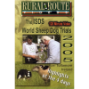 Cover picture of the DVD showing a winner receiving his trophy and also a dog working sheep