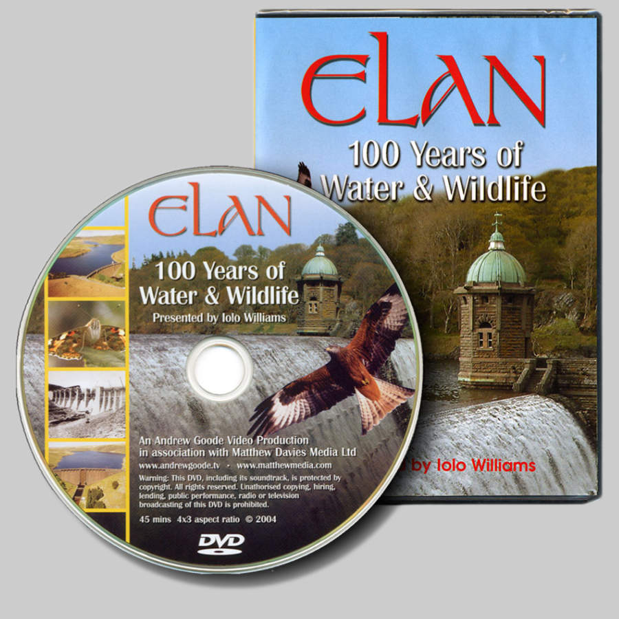 Cover picture of the DVD showing part of the beautiful Craig Goch dam